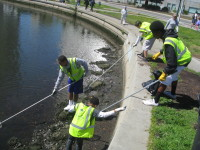 Lake Merritt clean-up